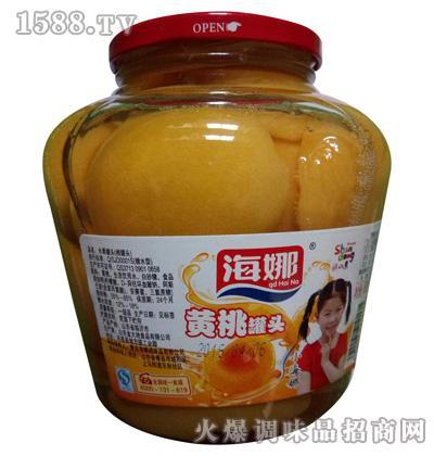 海娜黄桃罐头_青岛海娜调味品有限公司火爆招商 - 品.