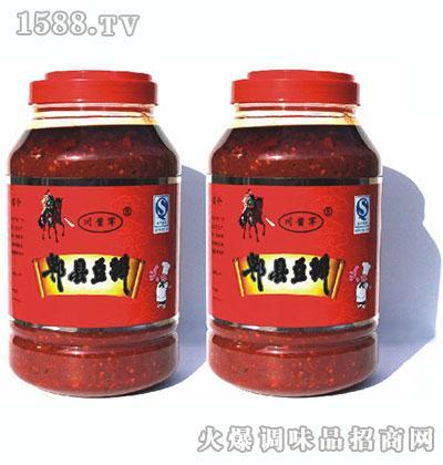 川酱军郫县风味豆瓣4千克