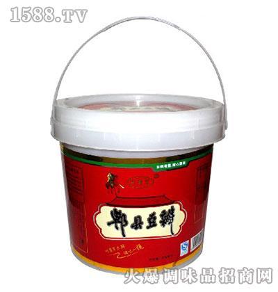 川酱军郫县风味豆瓣(红包装)