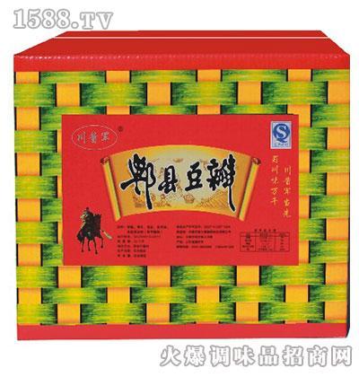 川酱军郫县风味豆瓣(框装)
