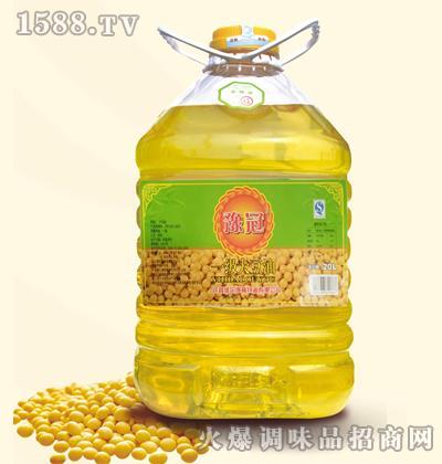 豫冠一级大豆油20L