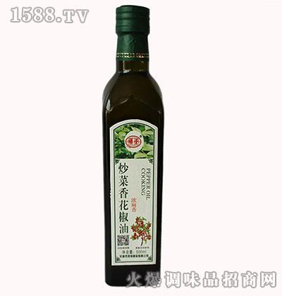 禄荣炒菜香花椒油500ml(浓麻香)