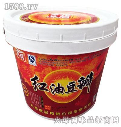 红油豆瓣酱6.5kg(也可做其他规格)