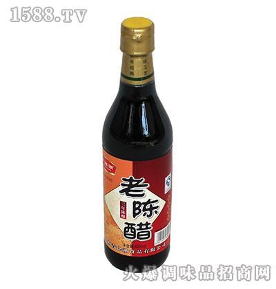 青徐湖老陈醋420ml三年陈酿(瓶装)