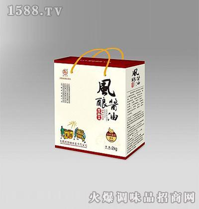 风酿酱油原晒王2kg