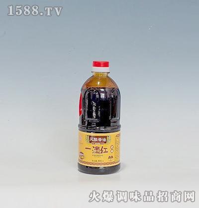风酿酱油一滴红800ml