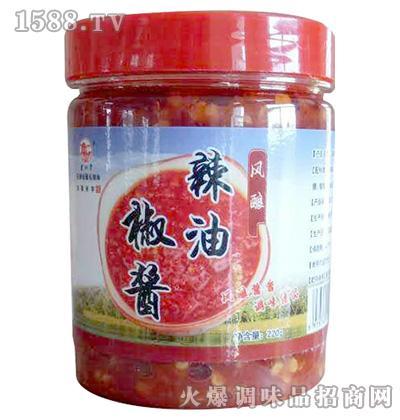 风酿辣油椒酱220g
