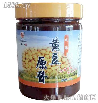 风酿黄豆原酱240g