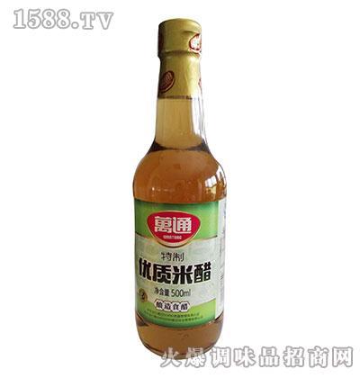 特制优质米醋500ml-万通