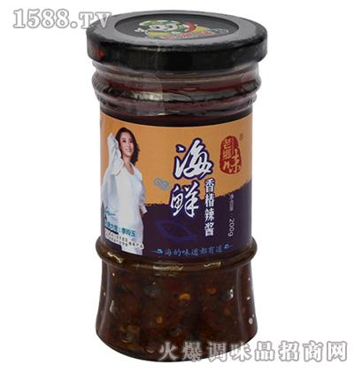 海鲜香椿辣酱200克-老乡味