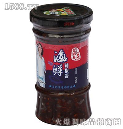 海鲜辣椒酱200克-老乡味