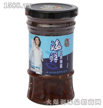 海鲜豆豉辣酱200克-老乡味