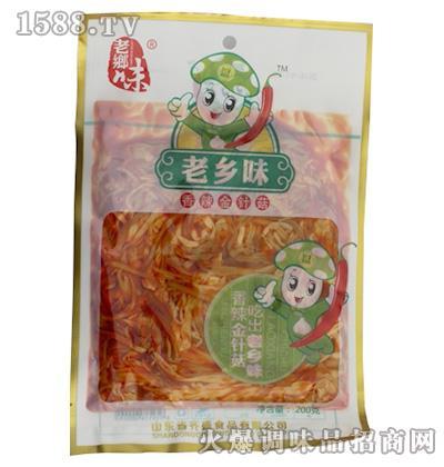 香辣金针菇200克-老乡味