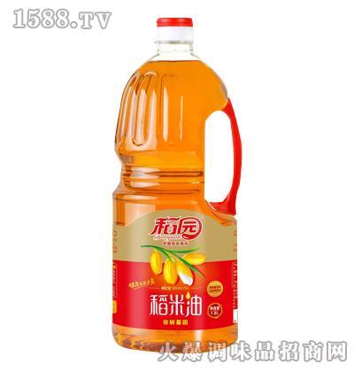 三级稻米油1.8L-稻园