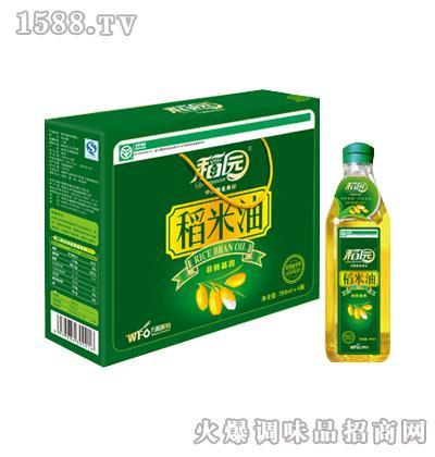 一级稻米油750ml-稻园