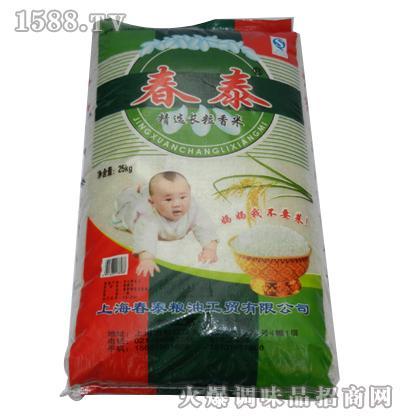 精选长粒香米25kg-春泰