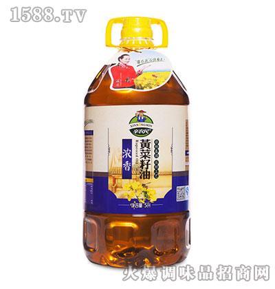 浓香黄菜油5升-辛农民