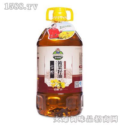 古榨黄菜油5升-辛农民
