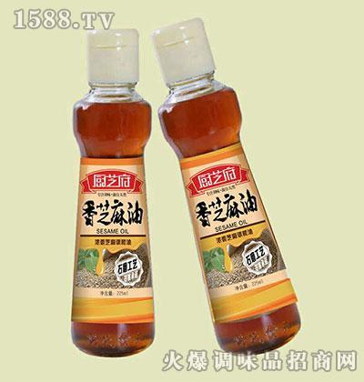 香芝麻油225ml-厨芝府