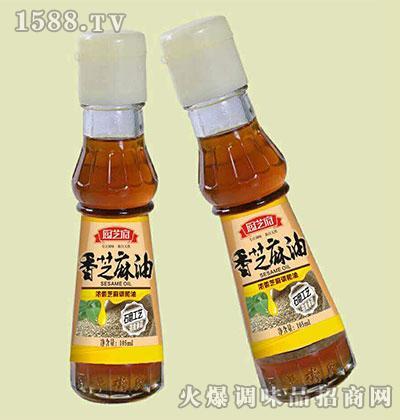 香芝麻油105ml-厨芝府