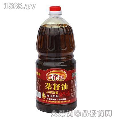 小榨纯香菜籽油1.8L-佳家喜
