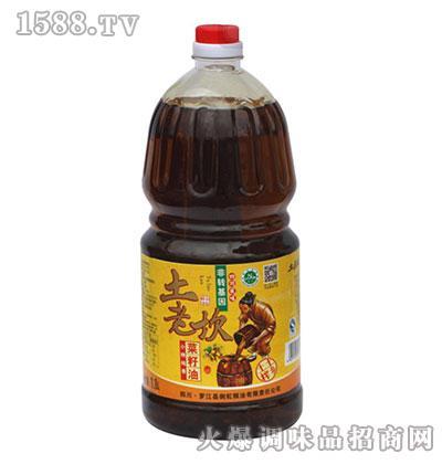 小榨纯香菜籽油1.8L-土老坎