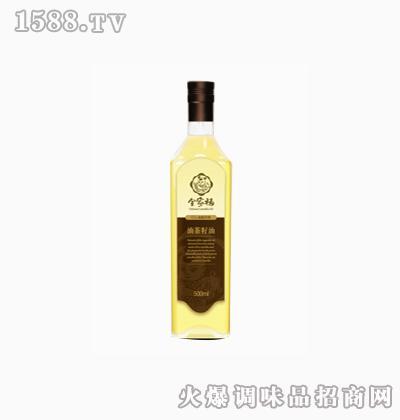 特级初榨茶籽油500ml礼盒-全家福