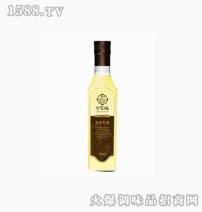 特级初榨茶籽油250ml礼盒-全家福