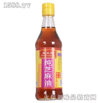 纯芝麻香油450ml-张兴邦