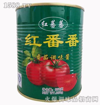 红番番番茄酱850克-红蕃蕃