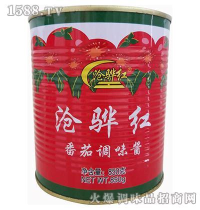 番茄调味酱850克-沧骅红