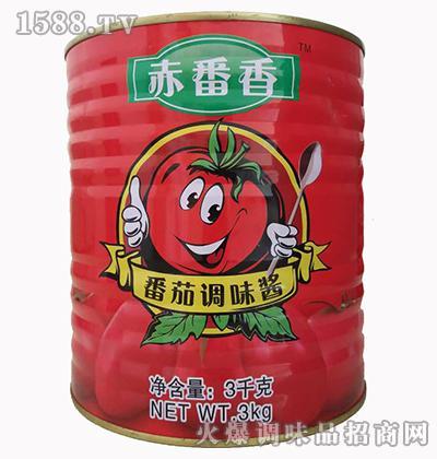 番茄调味酱3千克-赤番香