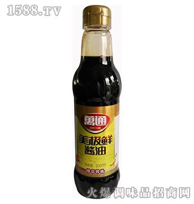美极鲜酱油500ml-万通