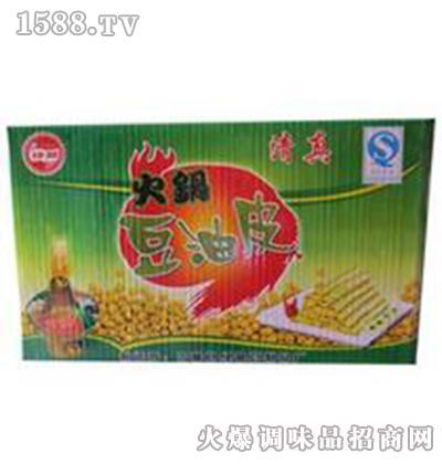 火锅专用手工豆油皮-绿翠