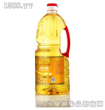 一级大豆油1.8L-绿色餐桌