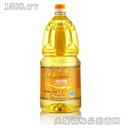 一级大豆油2.5L-绿色餐桌