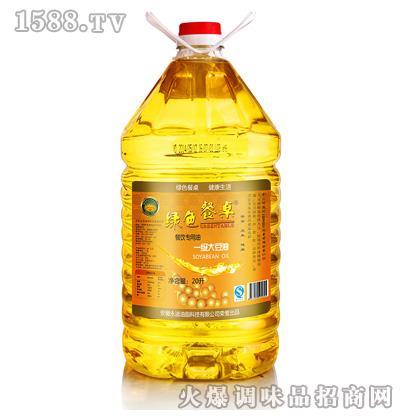 一级大豆油20L-绿色餐桌