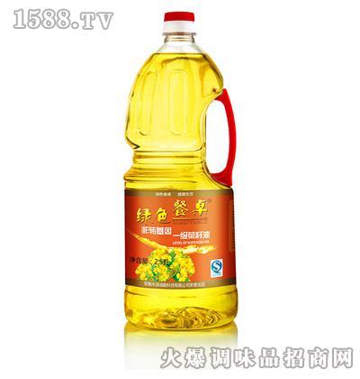一级菜籽油2.5L-绿色餐桌