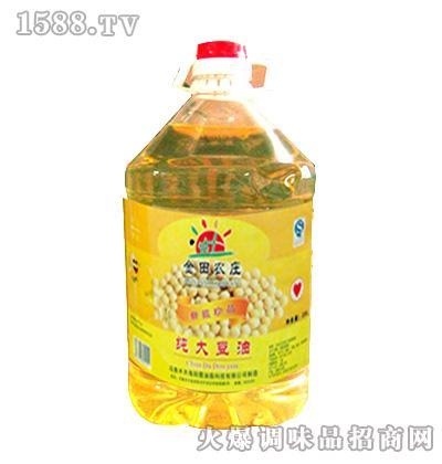 纯大豆油5L-金田农庄