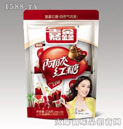 阿胶红糖216克-嘉鑫