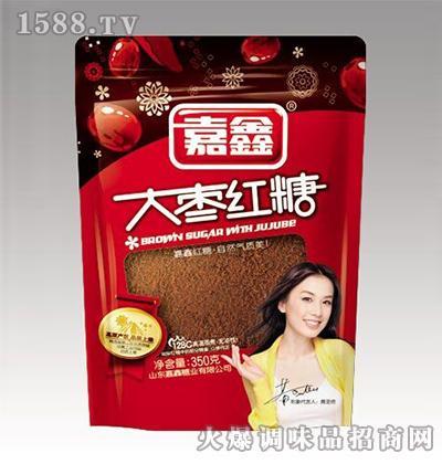 大枣红糖350克-嘉鑫