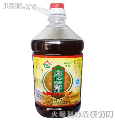 老鲳鱼芝麻油4.5L-庆合缘|合肥庆合缘调味品有海作坊是金鲳鱼吗图片