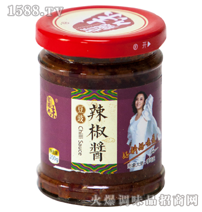 豆豉辣椒酱200g-老乡味