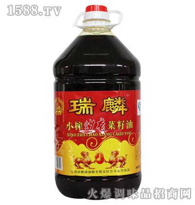 小榨炒香菜籽油21.74L-瑞麟