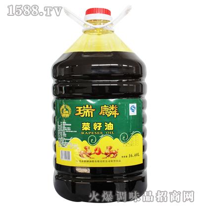 菜籽油16.4L-瑞麟