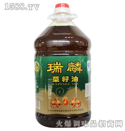 菜籽油5L-瑞麟