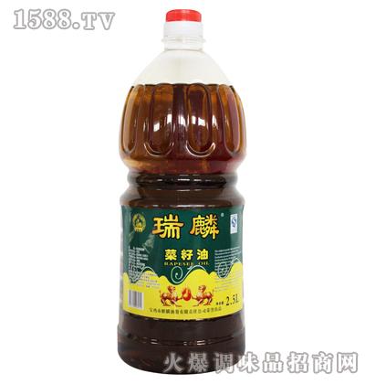 菜籽油2.5L-瑞麟