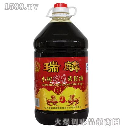 小榨炒香菜籽油5L-瑞麟