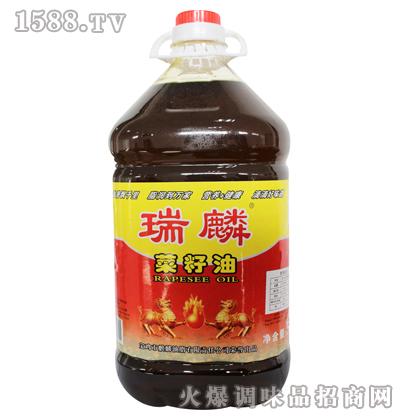 精品菜籽油5L-瑞麟