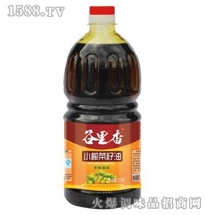 小榨菜籽油2.5L-谷里香